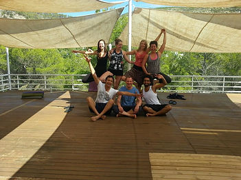 Yoga Holiday Group in Ibiza