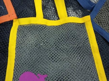 EcoBags- de rede fantasmas a sacolas retornáveis.