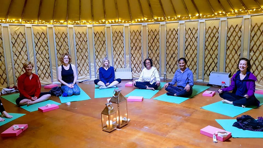 Yoga Retreat at Tilton House