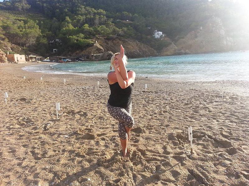 Beach Yoga in Ibiza