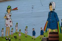 Antagonist Mural in Victoria TX