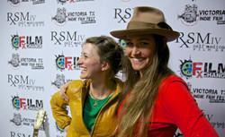 Bianca Butti and Amelia Martin