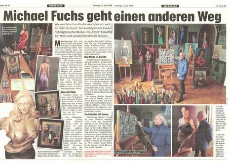 Michael Fuchs in der Kronen Zeitung