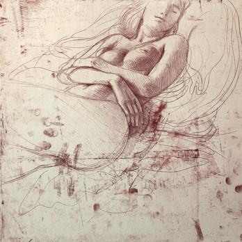Schlafende (Woman Sleeping)