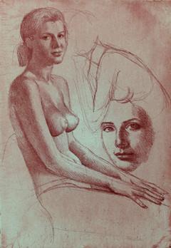 Sitzende (Woman Sitting)