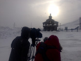 Tournage en Sibérie