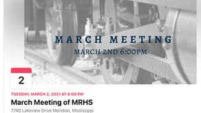 MARCH MEETING --Tuesday, March 2nd