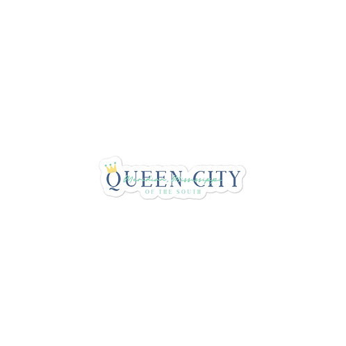 Queen City of The South Sticker