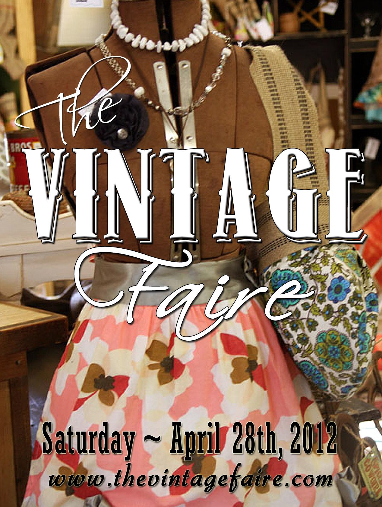 Vintage Faire 2012 front