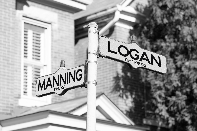 Custom Black & White street Sign Shutter Me Happy