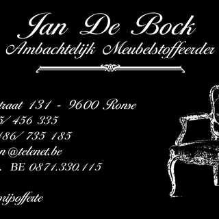 Jan De Bock Meubelstoffeerde Ninovestraa