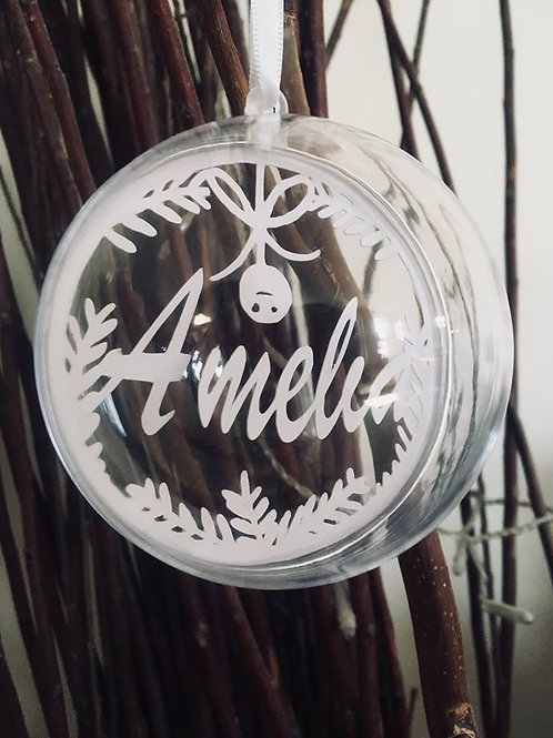 Personalised Bell Bauble