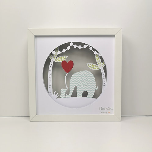Mummy+Me Elephant Papercut Mood Light
