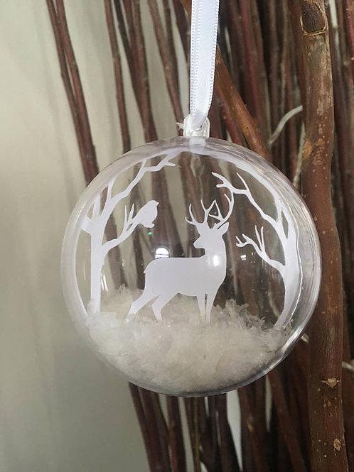 Christmas Deer Bauble