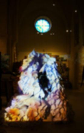 Sound-Dress, Espace des Minimes à Compiègne, photo de Emmanuel Barrat