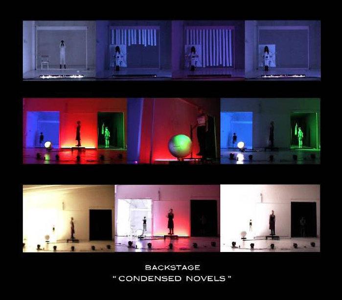 """""""Condensed novels"""" backstage, année 2004"""