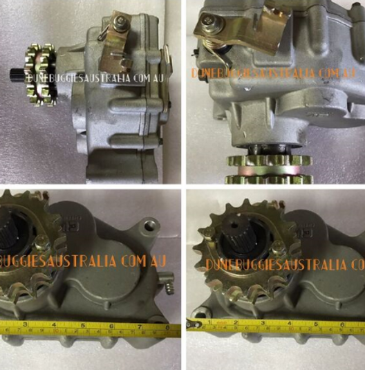 Kinroad 250 Reverse gearbox