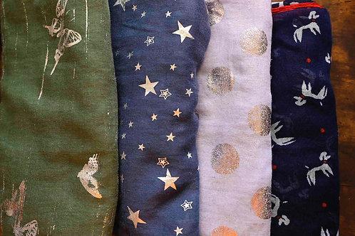 スカーフセット アソート 4枚(組み合わせはお任せ頂きます)