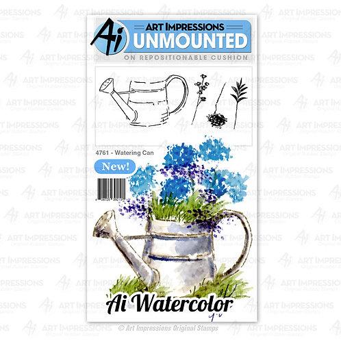 AI4761 - Watering Can ジョウロと小さな花