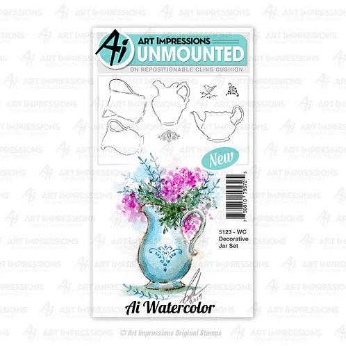AI5123 - WC Decorative Jar Set
