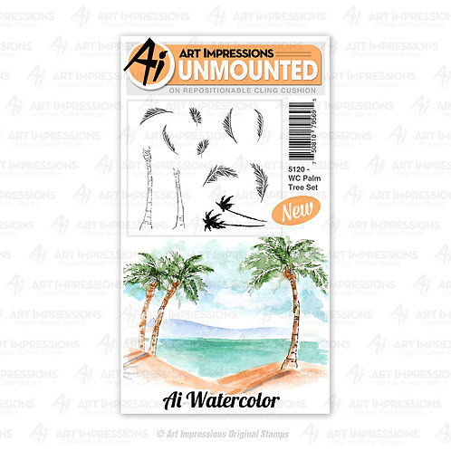 AI5120 - WC Palm Tree Set