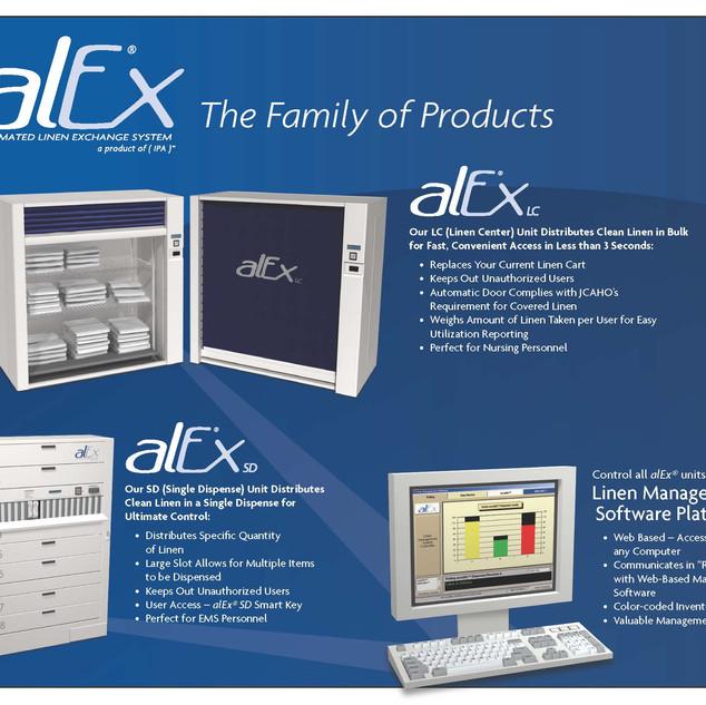 alEx Brochure (front)
