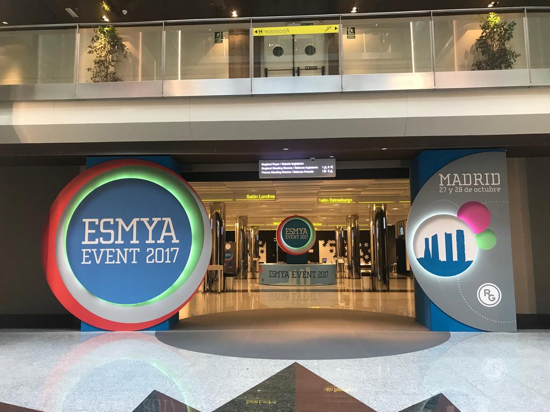 ESMYA EVENT 2017 -  Hotel Marriott Internacional Madrid