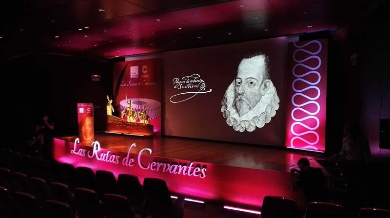 """LAS RUTAS DE CERVANTES"" EVENT"
