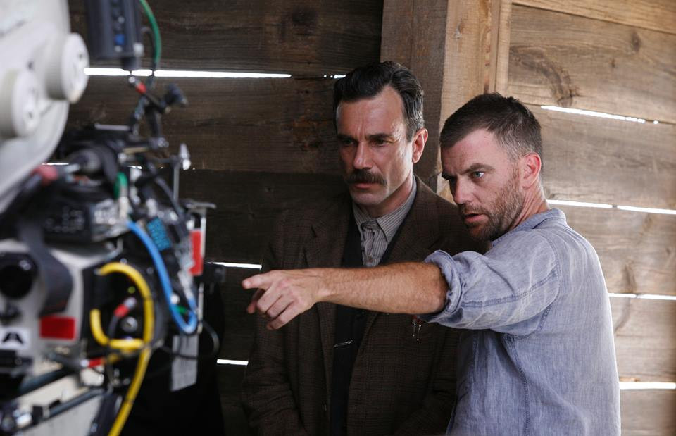 Paul Thomas Anderson and Daniel Day Lewis