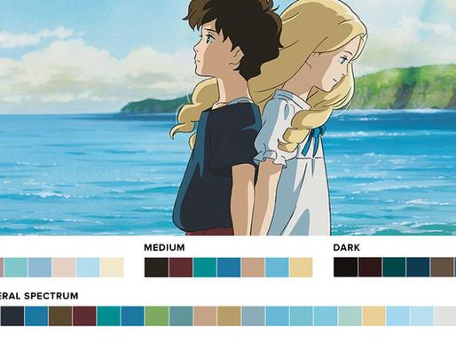 Studio Ghibli - Colour Palette Analysis