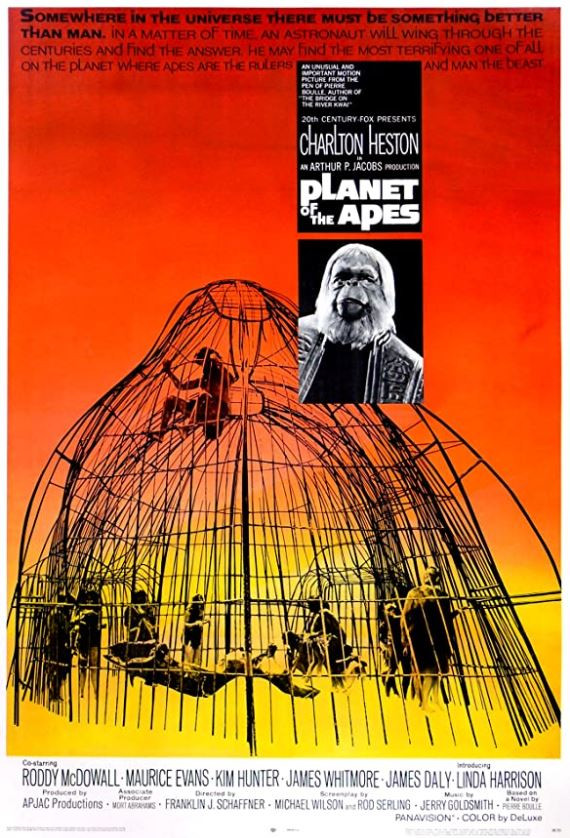 Planet of the Apes (1968) Film Review