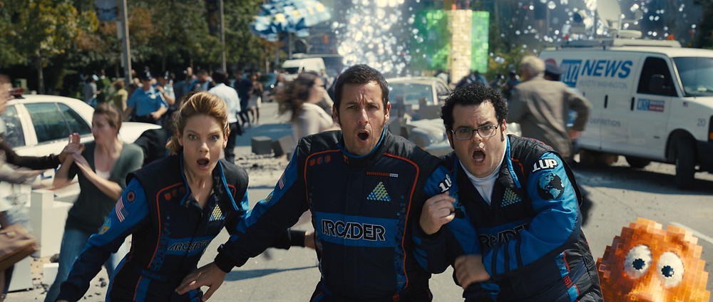 Pixels UK Film Review