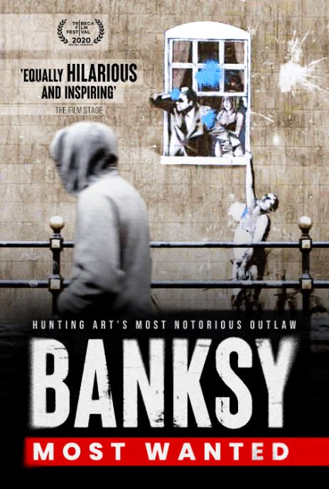 Banksy Most Wanted UK poster