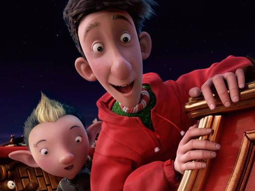 Arthur Christmas (2011) film review