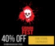 Grimm Fest 40% promo.png