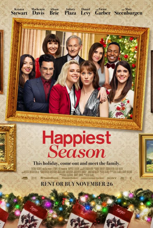 Happiest Season film poster