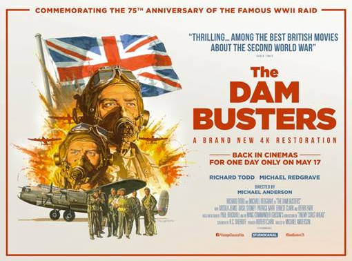 4K restoration of Dam Busters and gala event will mark legendary WWII mission