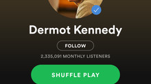 Dermot Kennedy Power Over Me Spotify music review