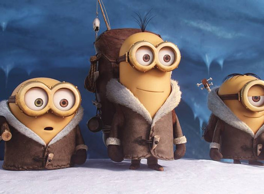 Minions - out on DVD - ★★★