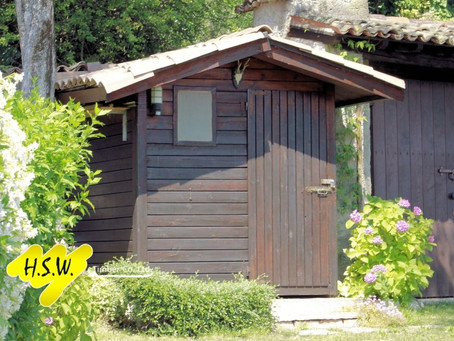 Custom-made sheds in Kent with reputably sourced wood