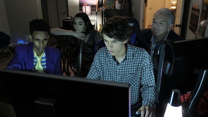 Mira Sorvina and Sean Astin star in Hero Mode