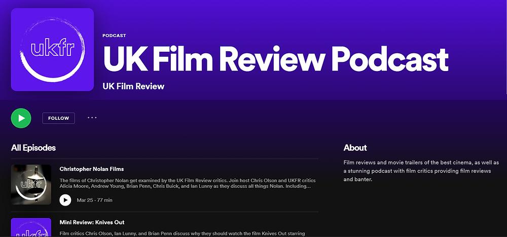 Film Podcast on Spotify