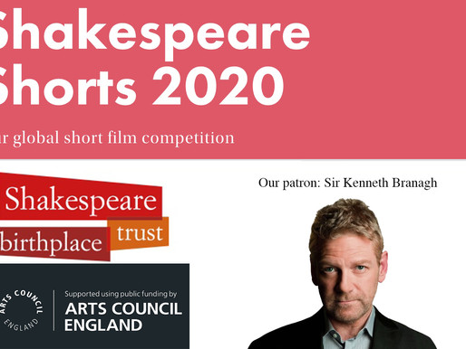 Winners of Shakespeare Shorts Film competition announced