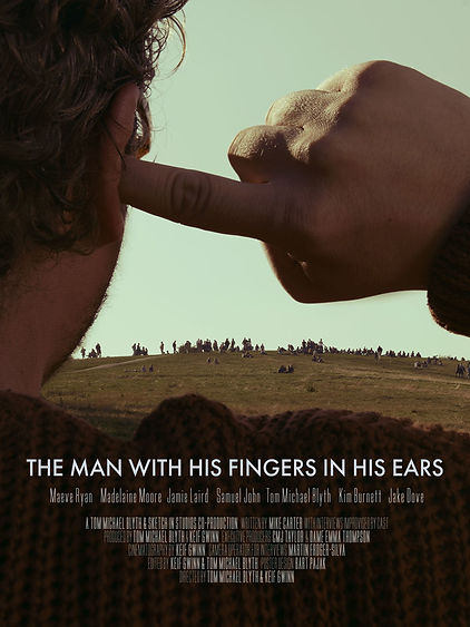 The Man with His Fingers in His Ears