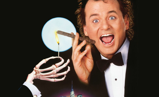Scrooged (1988) Christmas film review