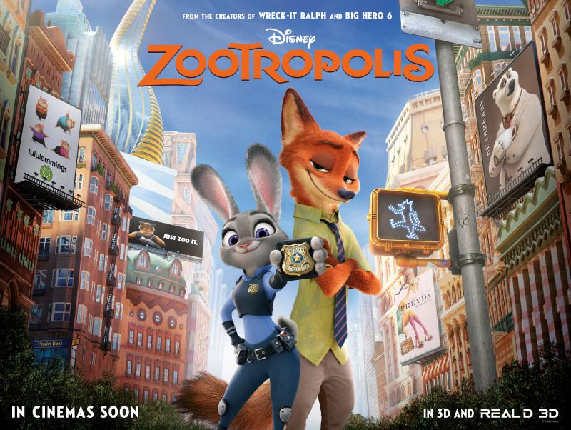 Zootropolis film review UK