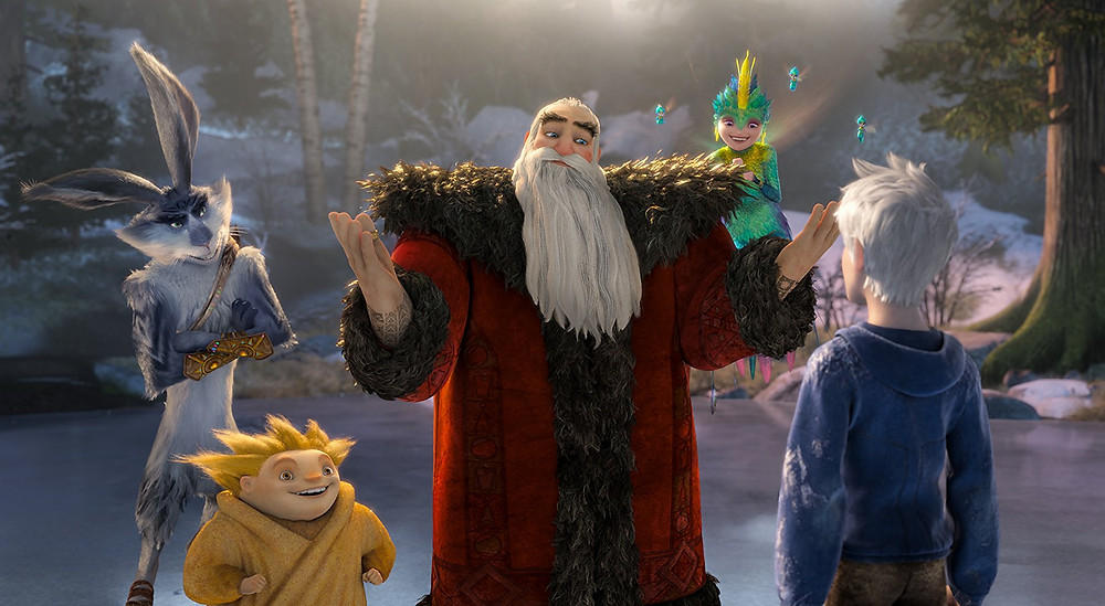 Rise of the Guardians Christmas film review