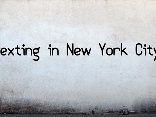 Texting in New York City short film
