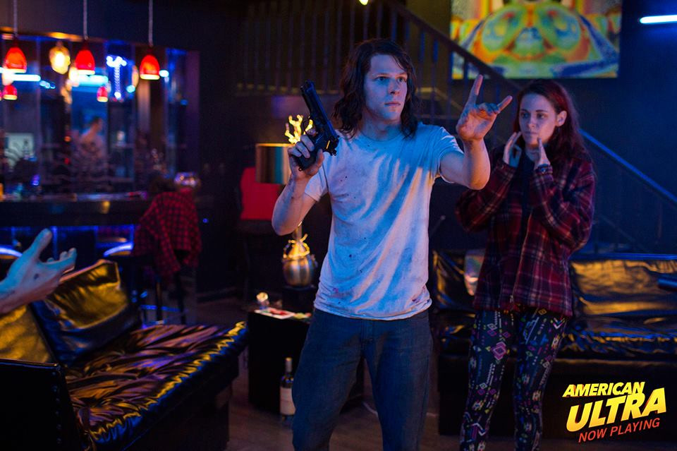 American Ultra film review UK
