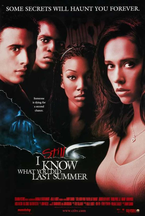 I Still Know What You Did Last Summer Movie Poster featuring the cast